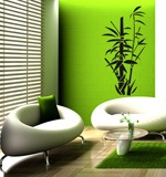 Wall Stickers: Floral bamboo canes 5