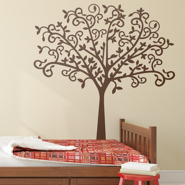 Wall Stickers: Original tree silhouette