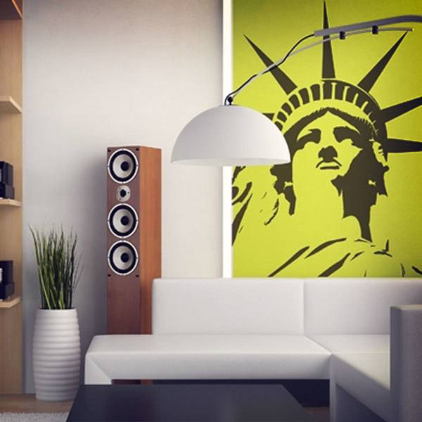Wall Stickers: Head of the Statue of Liberty