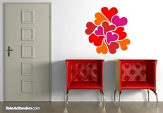 Wall Stickers: Hearts 3