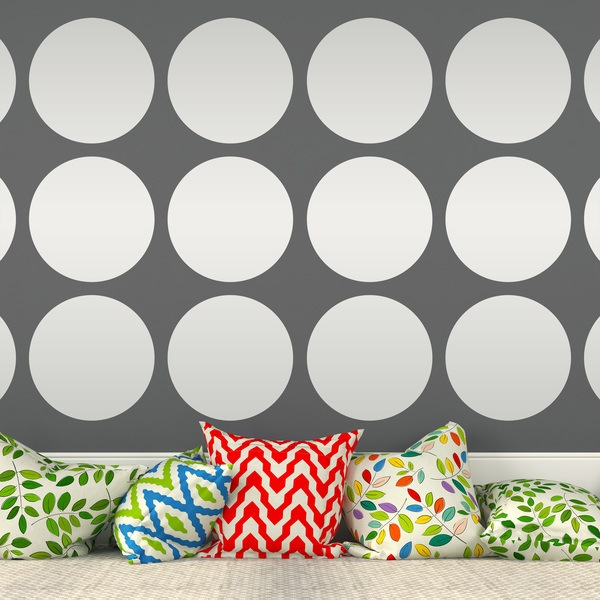 Wall Stickers: Kit 9 circles