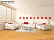 Wall Stickers: Kit 9 circles 2