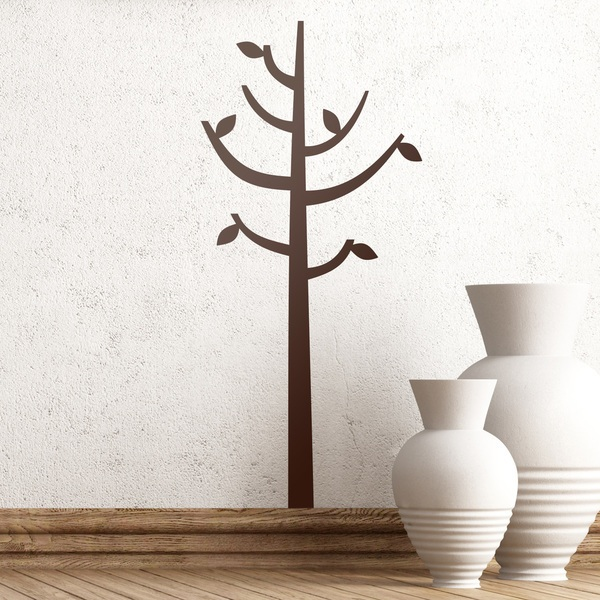 Wall Stickers: Tree in the form of a coat rack