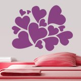 Wall Stickers: Hearts 2