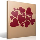 Wall Stickers: Hearts 5