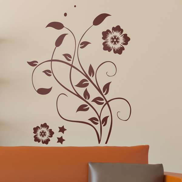 Wall Stickers: The floral Kanae