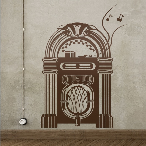 Wall Stickers: Jukebox Wurlitzer