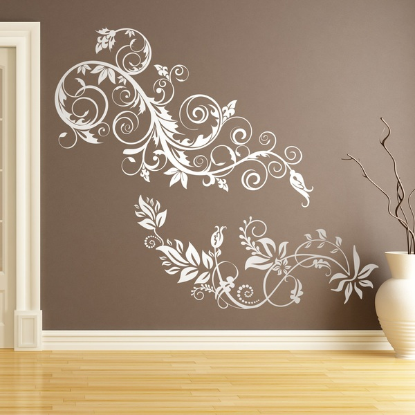 Wall Stickers: Floral Arabis