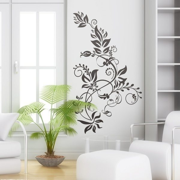 Wall Stickers: Floral Tarai