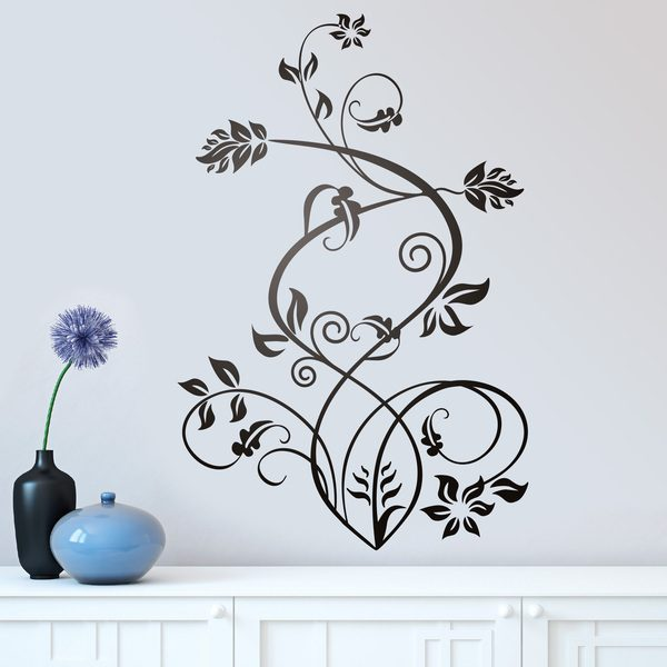 Wall Stickers: Floral Sura