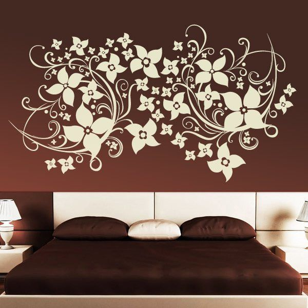 Wall Stickers: Floral Magnolia