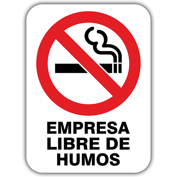 Car and Motorbike Stickers: No smoking 3