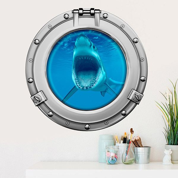 Wall Stickers: Shark