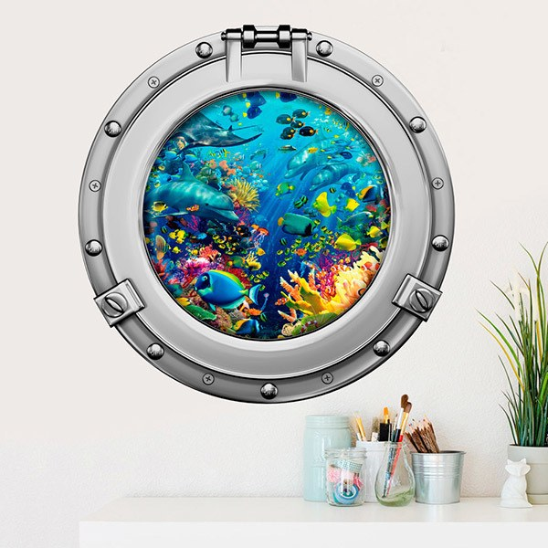 Wall Stickers: Seafloor