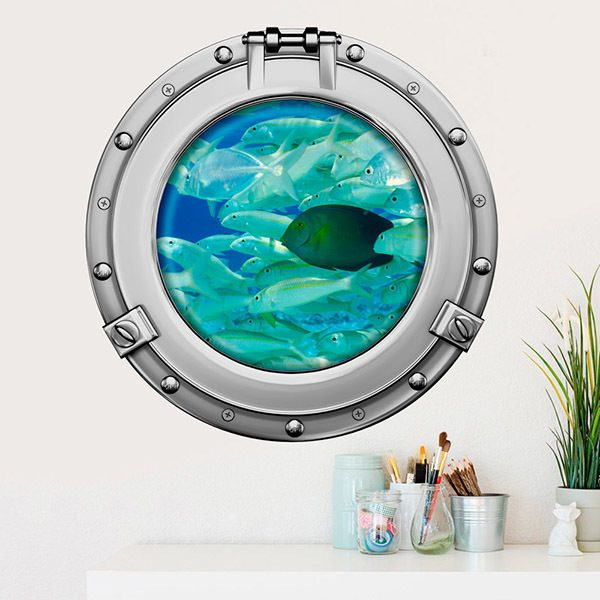 Wall Stickers: Fish bank 2