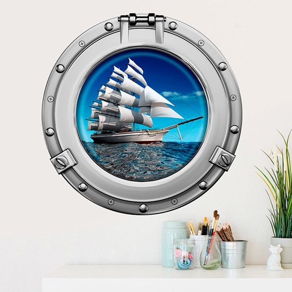 Wall Stickers: Sailing ship 1