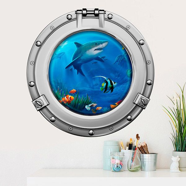 Wall Stickers: Sharks and fishes