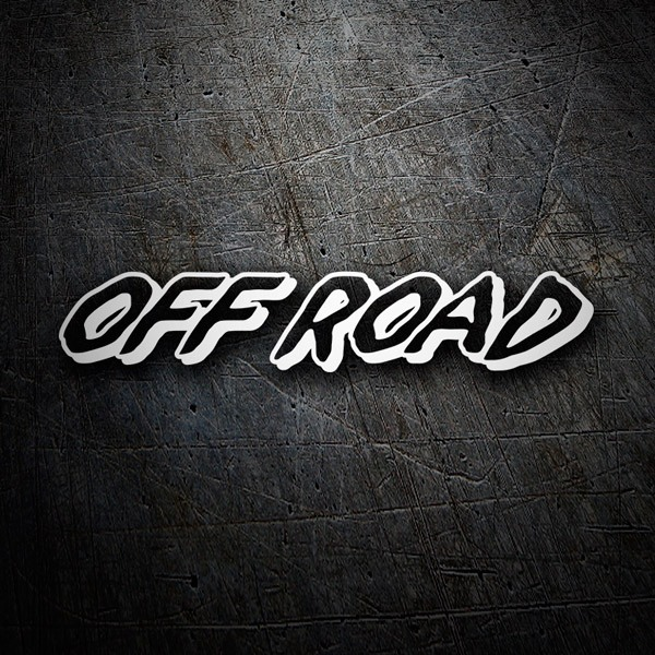 Car & Motorbike Stickers: OfRoad1