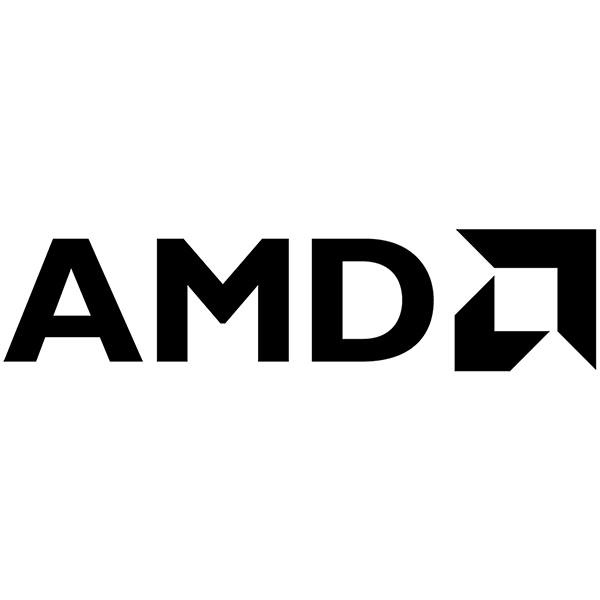 Car & Motorbike Stickers: AMD