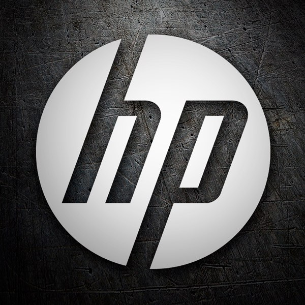 Car & Motorbike Stickers: HP Hewlett-Packard 0