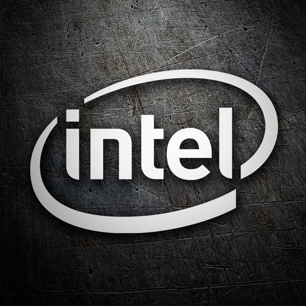 Car & Motorbike Stickers: Intel Corporation