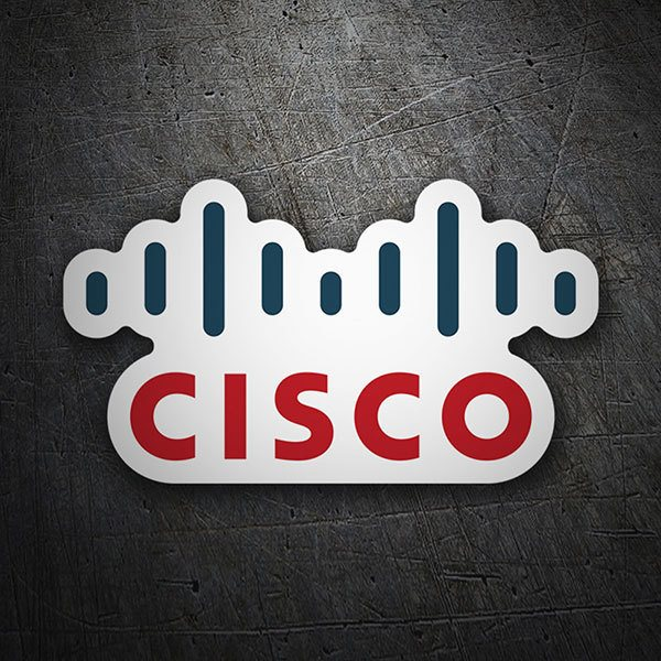 Car & Motorbike Stickers: Cisco Systems