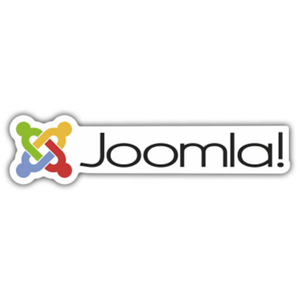 Car & Motorbike Stickers: Joomla!