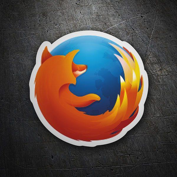 Sticker Mozilla Firefox Logo | MuralDecal com
