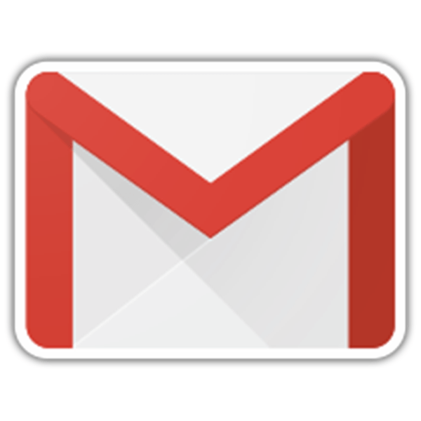 Car & Motorbike Stickers: Gmail Logo