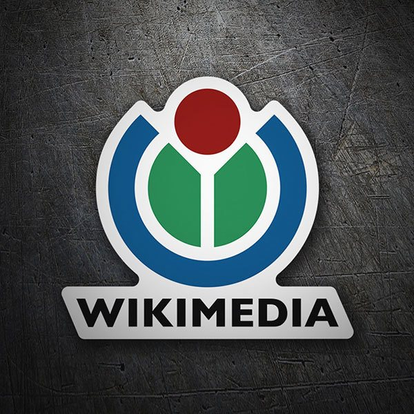 Car & Motorbike Stickers: Wikimedia Logo