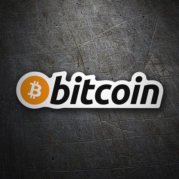 Car & Motorbike Stickers: Bitcoin