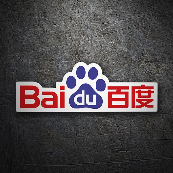 Car & Motorbike Stickers: Baidu