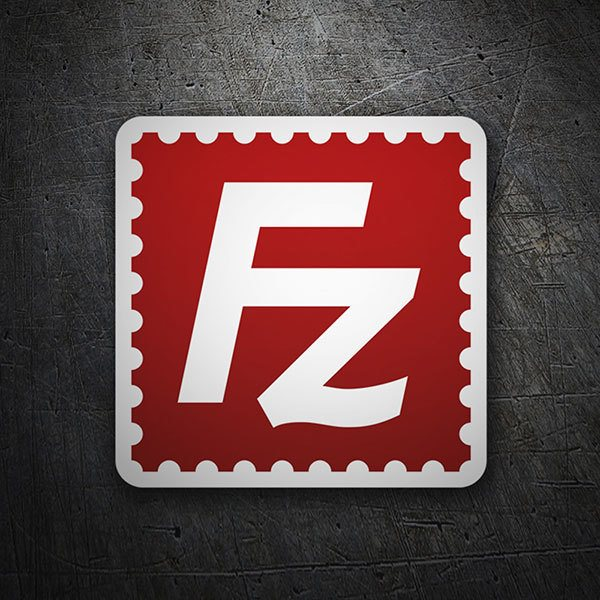 Car & Motorbike Stickers: FileZilla