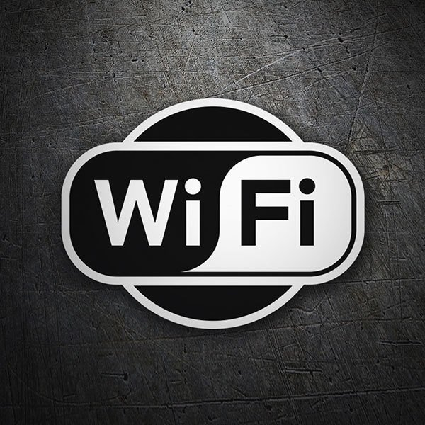 Car & Motorbike Stickers: Wifi