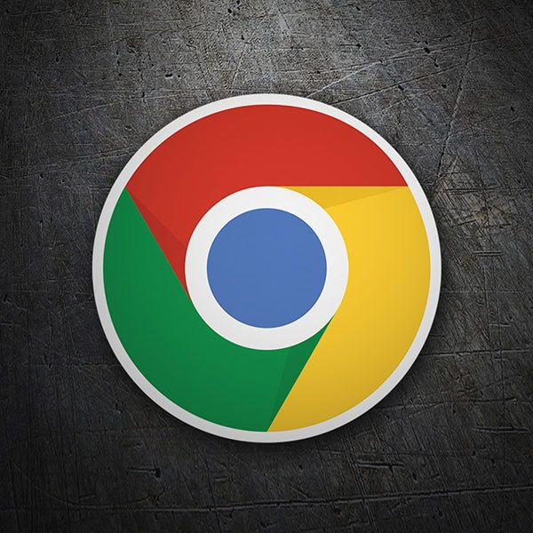 Car & Motorbike Stickers: Google Chrome