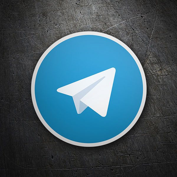 Car & Motorbike Stickers: Telegram Messenger 1