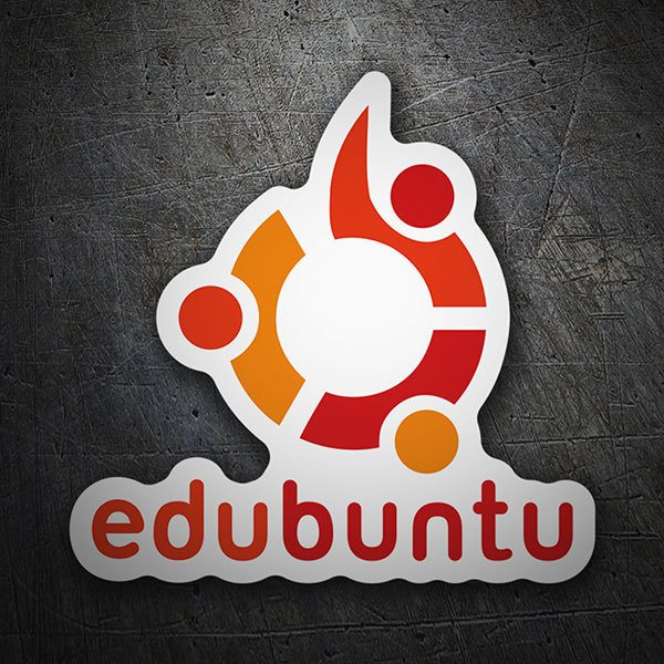 Car & Motorbike Stickers: Edubuntu