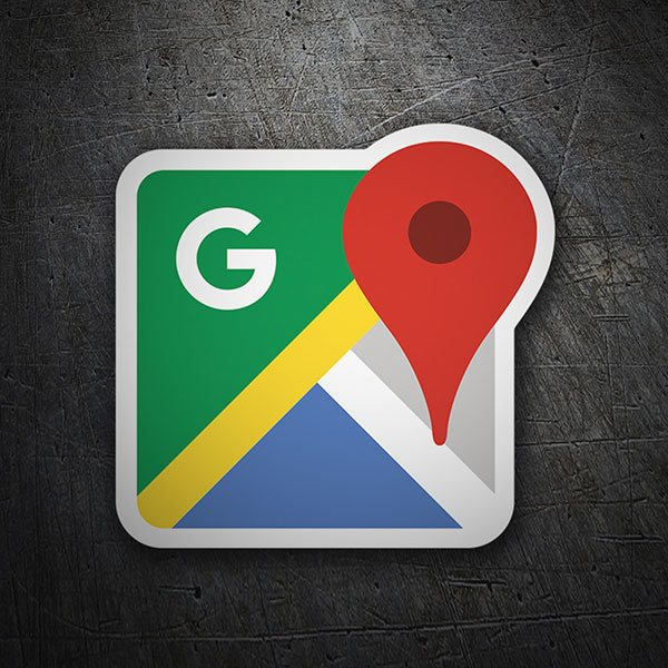 Car & Motorbike Stickers: Google Maps