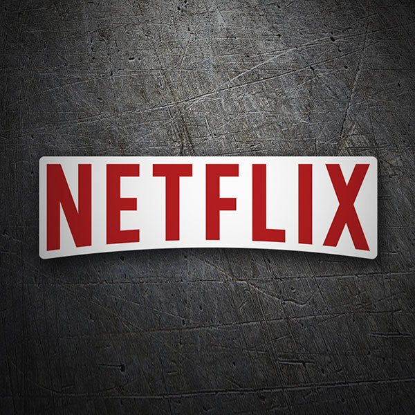 Car & Motorbike Stickers: Netflix