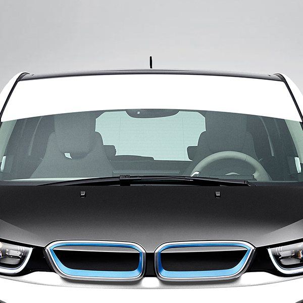 Car & Motorbike Stickers: Windshield Sunstrip curved