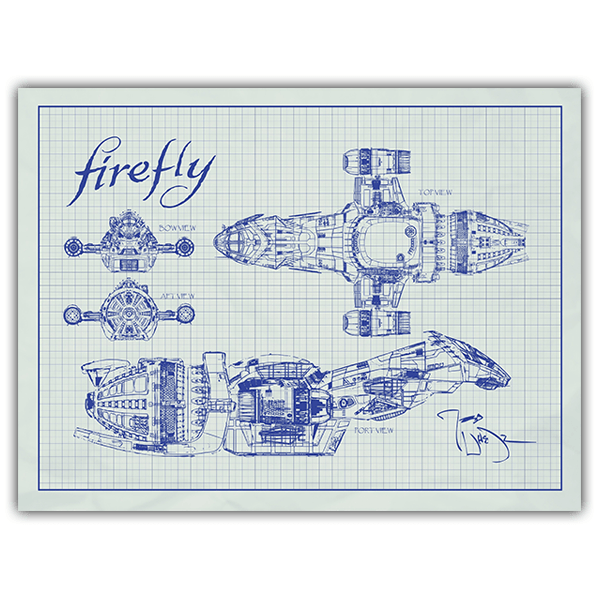 Wall Stickers: Ship Firefly Serenity