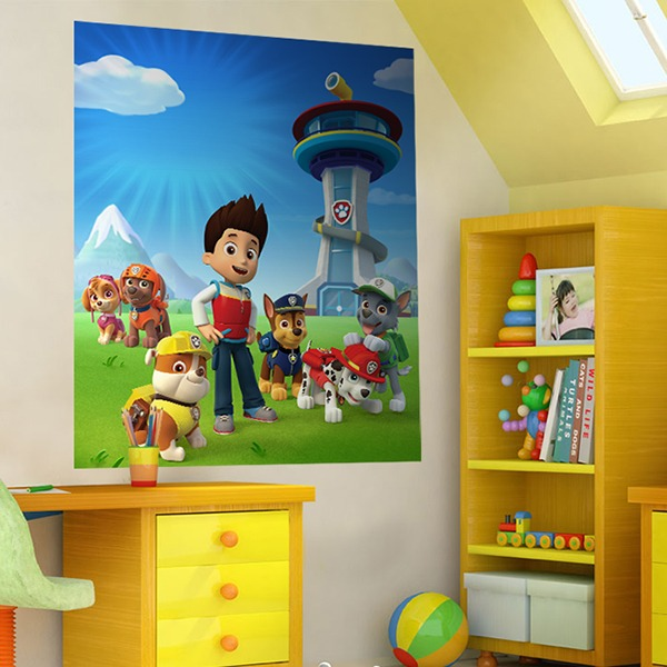 Stickers for Kids: Poster Paw Patrol