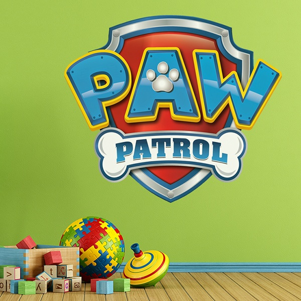 Stickers for Kids: Paw Patrol - Logo