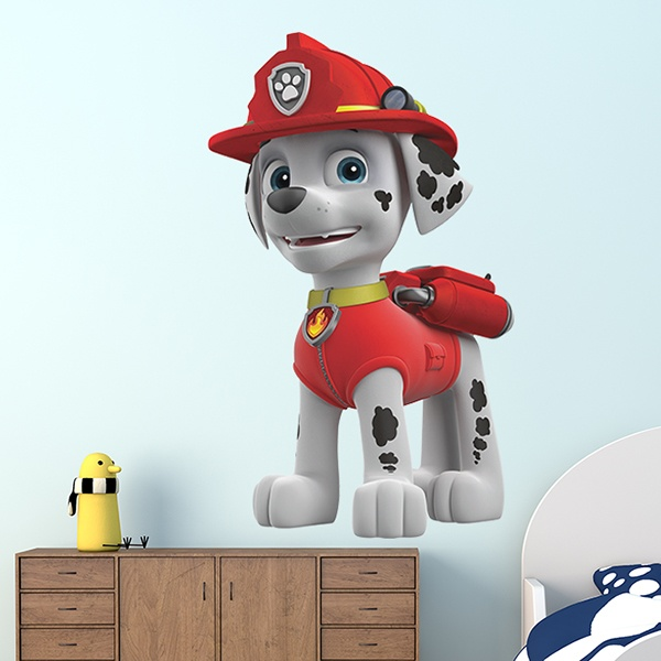 Stickers for Kids: Paw Patrol - Marshall