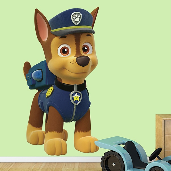 Stickers for Kids: Paw Patrol - Chase