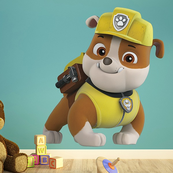 Stickers for Kids: Paw Patrol - Rubble