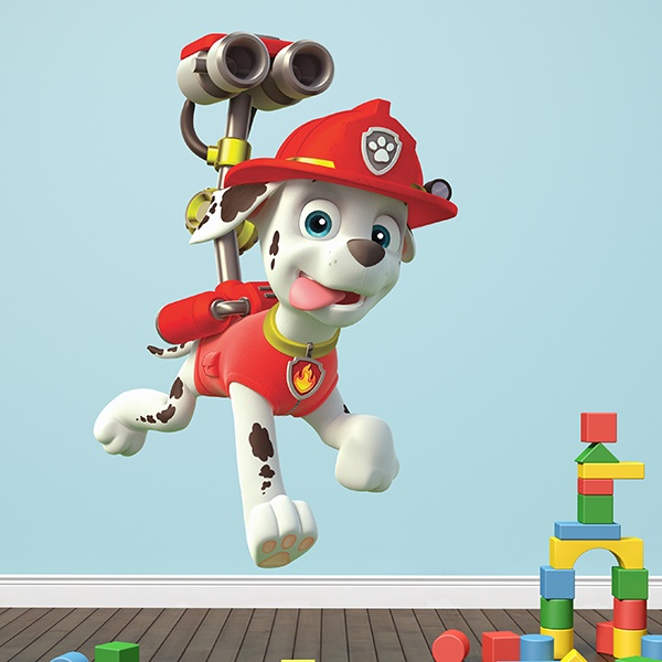 Stickers for Kids: Paw Patrol - Marshall in Action 1