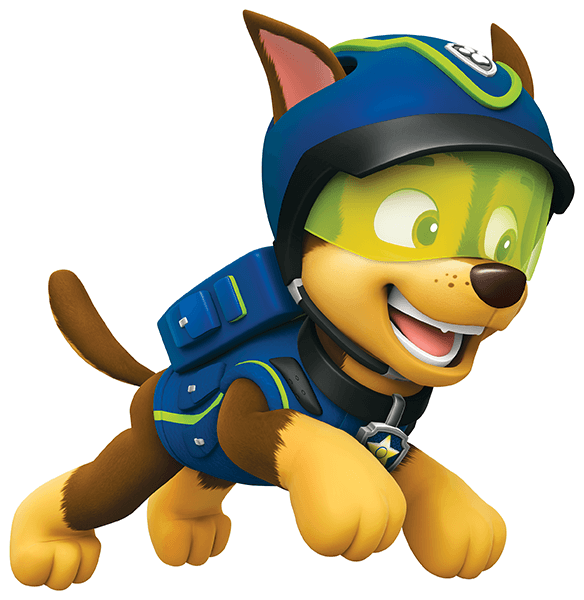Stickers for Kids: Paw Patrol - Chase in Action