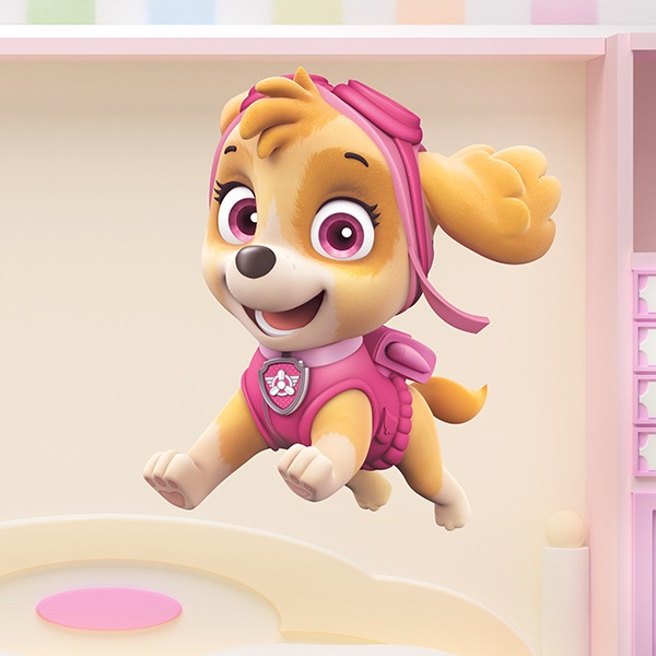 Stickers for Kids: Paw Patrol - Skye in Action