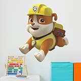 Stickers for Kids: Paw Patrol - Rubble in Action 3